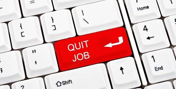 Quit job key