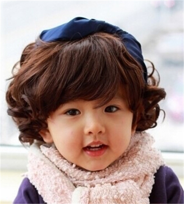J-053-150-g-hitam-warna-coklat-tua-mode-baru-Cosplay-rambut-untuk-Chirdren-anak-anak