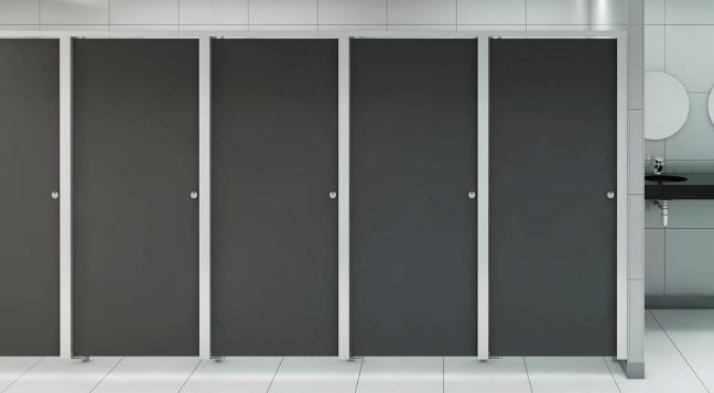 Commercial toilet partition
